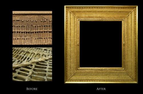 Restoration of Stanford White Frame